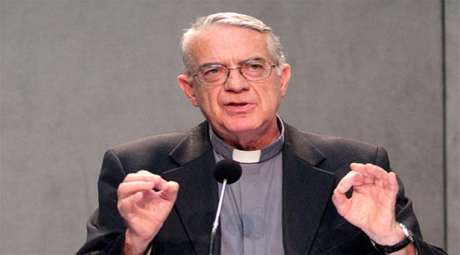 Padre Lombardi, portavoz de la Santa Sede