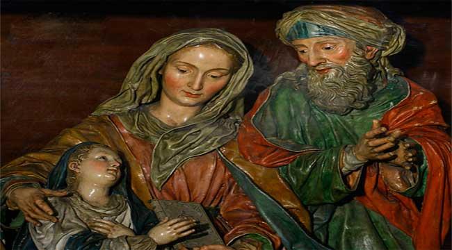 Los Padres De La Virgen María Los Abuelos De Jesús San Joaquín Y