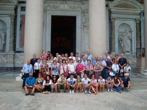 La parroquia de Almedinilla (Córdoba) peregrina a Roma