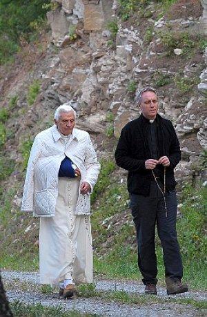 EL PAPA BENEDICTO XVI EN LES COMBES