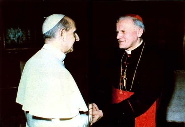 Resultado de imagen de Pablo VI juan pablo ii
