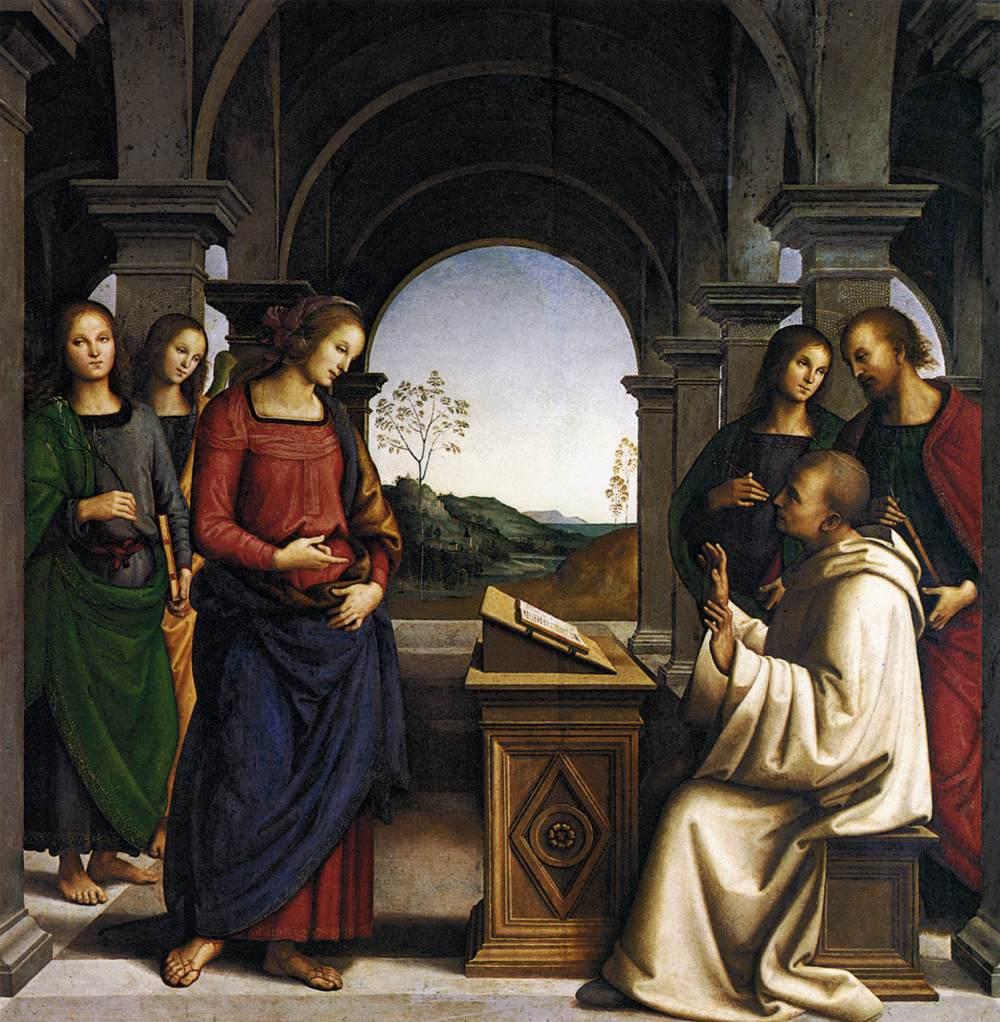 vision mariana de San Bernardo