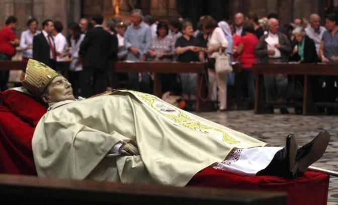 Mensaje del papa benedicto xvi para el funeral del - La valigia sul letto iglesias ...