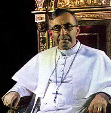 Papa Juan Pablo I, el Papa de la sonrisa