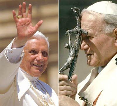 Juan Pablo II Benedicto XVI
