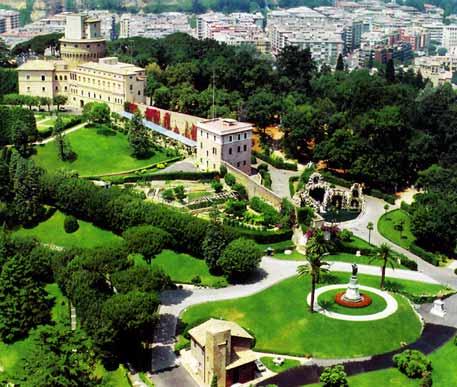 jardines vaticano