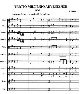 MISA TERCIO MILENIO de Climent