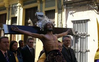 PROCESION CRISTO DE LOS AFLIGIDIOS.VALENCIA