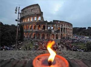 Via crucis Coliseo Romano