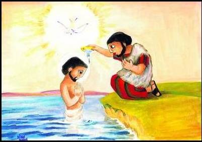 Materiales pastorales bautismos de Jesús