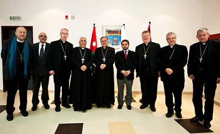 obispos tierra santa