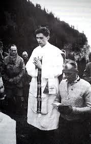 Benedicto XVI en el seminario