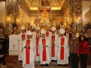 obispos españoles en el rocio