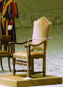 silla papa vacia Todo ante el Cónclave Marzo 2013