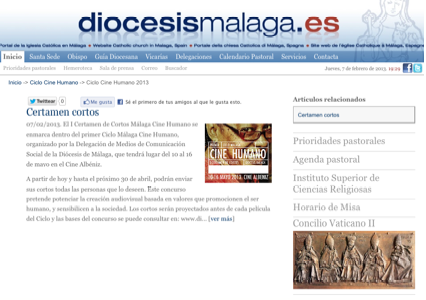 web diocesis malaga