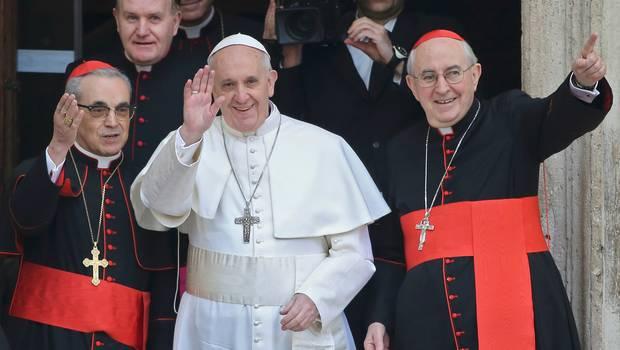 El+Papa+Francisco+rezó+a+la+Virgen