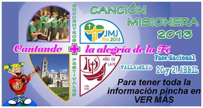 cancion misionera 2013