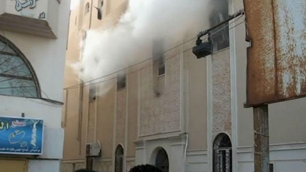 iglesia copta de Bengasi