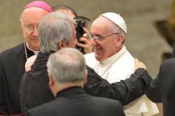 prensa papa francisco