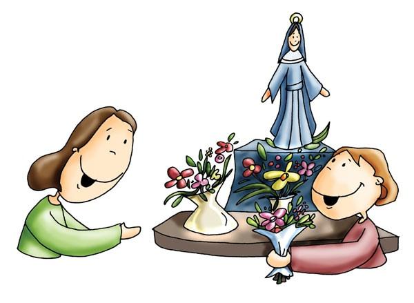 Mes De Mayo Con Flores A María Centineladelafecom