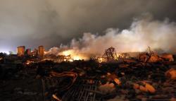 explosion texas