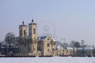 iglesia-en-el-invierno--kaunas-lituania