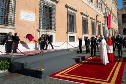 papa francisco plaza juan pablo II