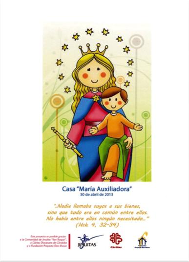 Casa de acogida María Auxiliadora
