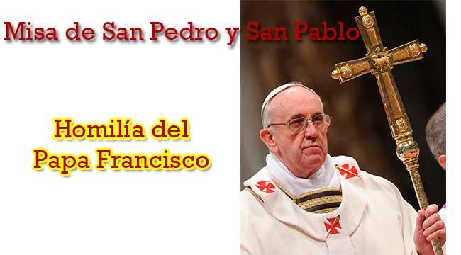 misa-san-pedro-y-san-pablo-homilia-papa-francisco