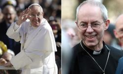 papa francisco arzobispo de canterbury