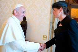 papa-francisco-presidenta-eslovena