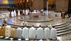 jmj aparecida 1 300x175 Homilía del Papa Francisco en el Santuario de Aparecida (Brasil)
