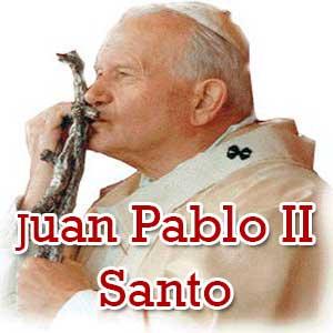 Juan Pablo II Santo