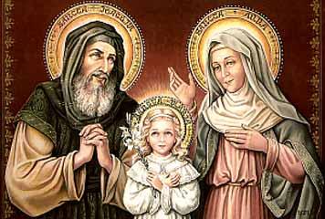 Los abuelos de Jesús