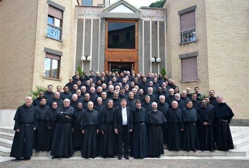 Curia de los agustinos en Roma