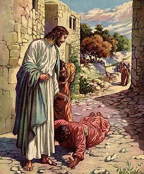 Un leproso ante Jesús