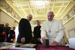 Papa Francisco al presidente de Croacia, Ivo Josipovic