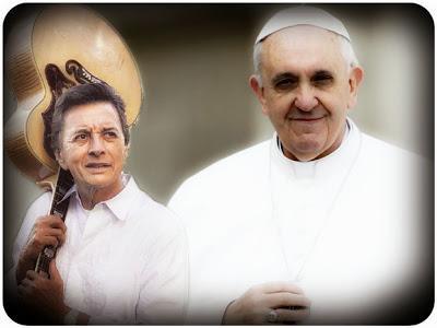 cancion palito ortega papa francisco