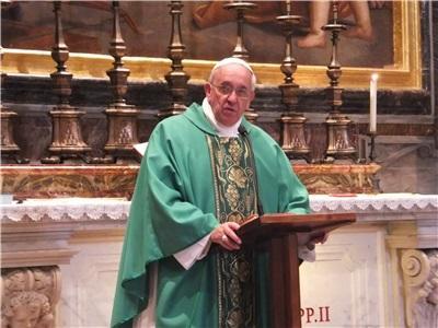 papa francisco misa