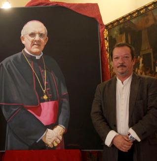 retrato osoro PINTOR GALARZA