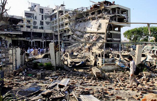 víctimas cristianas de Peshawar