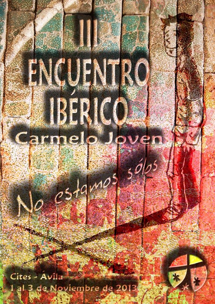 Cartel Carmelo Ibérico joven- español