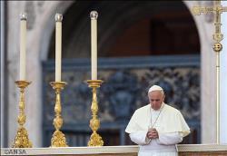 papa francisco oracion