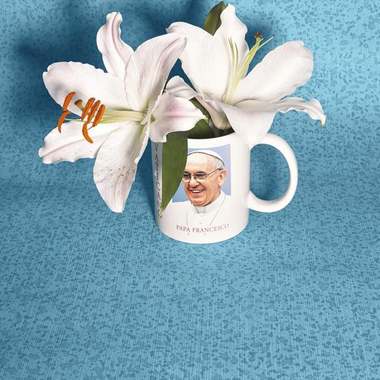 taza papa francisco