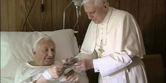 benedicto XVI hermano georg