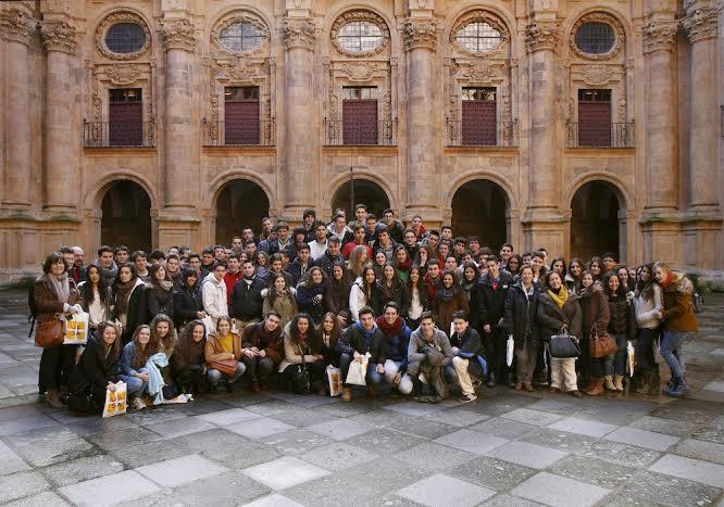 Visita del Colegio Diocesano de Ávilafotografía: Enrique Carrascal