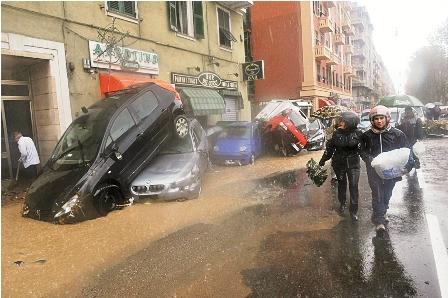 ITALIA INUNDACIONES