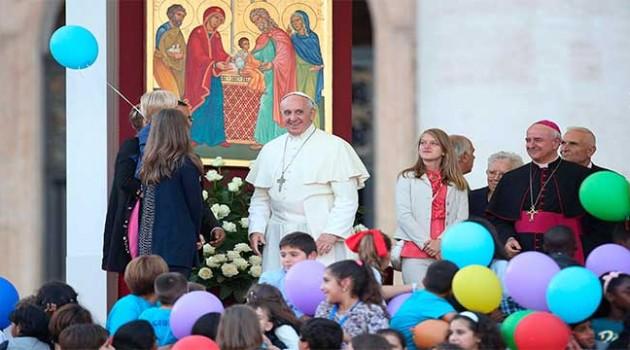 Resultado de imagen de francisco y familias