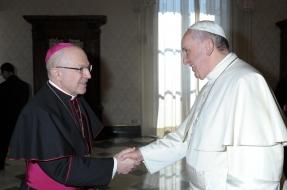 agustin cortes papa francisco