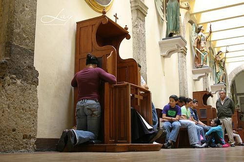 confesionario confesion
